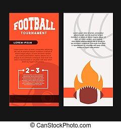Américain,  football, conception