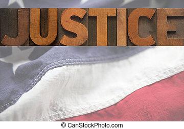 américain, justice
