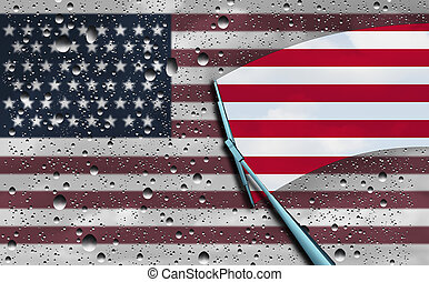 américain, optimisme