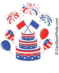 américain, tarte