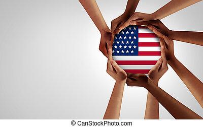 américain, unité