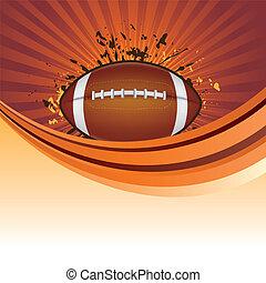 amérique, football, fond