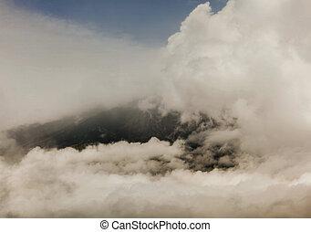 amérique sud, tungurahua, explosion, volcan