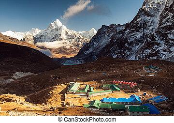 Ama Dablam. Nepal Himalaya.