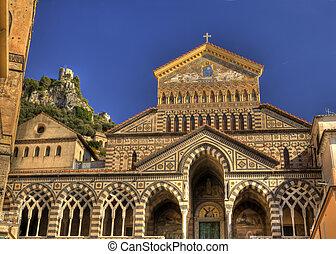 Amalfi cathedral facade