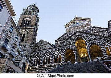 Amalfi Cathedral in Italy