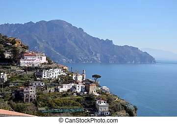 Seascape of the Amalfi Coast in Campania - Italy 032
