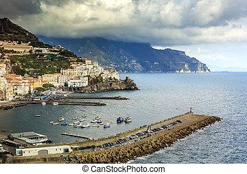 amalfi coast south italy one of most popular traveling ...