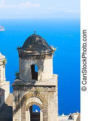 amalfi, ravello, italia, villaggio, costa