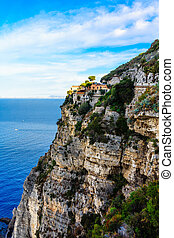 Amalfi Villa on Cliffside - Views along the Salerno Coast of...