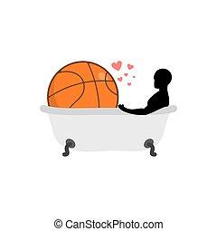 romantique bain deux luxueux rendre bouteille 3d spa bain vin plateau lunettes. Black Bedroom Furniture Sets. Home Design Ideas