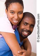 amantes, africano