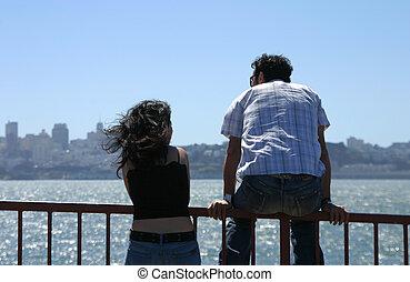 amantes, bahía