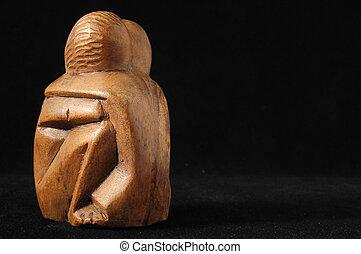 amanti, scultura
