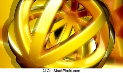 amarela, abertos, esfera