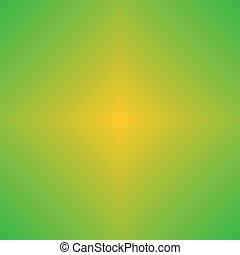 amarela, abstrato verde, fundo