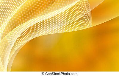 amarela, abstratos, fundo, com, quadrado, padrão