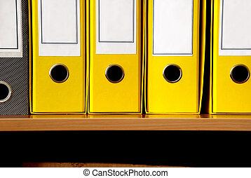 amarela, arquivos