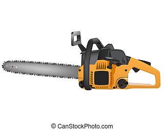 amarela, chainsaw