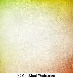 amarela, e, laranja, grunge, fundo