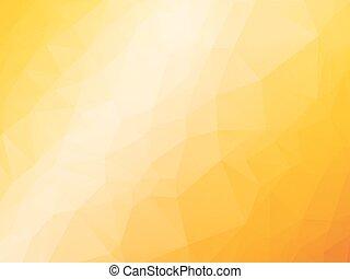 amarela, laranja, verão, fundo