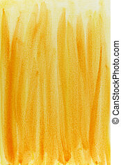 amarillo, acuarela, resumen, plano de fondo