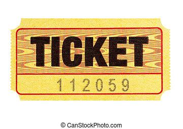 amarillo, admission ticket