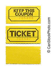 amarillo, boleto
