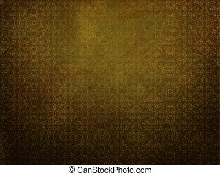 amarillo, grunge, plano de fondo, con, patrón