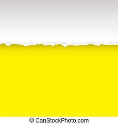 amarillo, lágrima, dividir