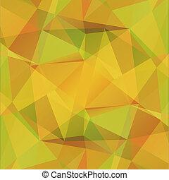 amarillo, Plano de fondo