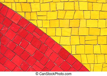 amarillo rojo