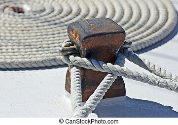 amarrage, corde