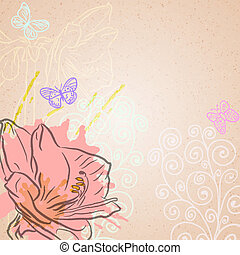 Amaryllis background