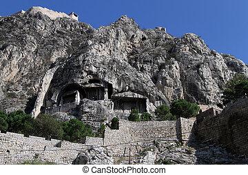 amasya, sepulturas