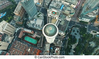 Amazing Aerial Views of Shanghai
