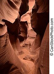 Amazing Antelope Slot Canyon in Page Arizona