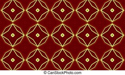Amazing Christmas Kaleidoscope Loop