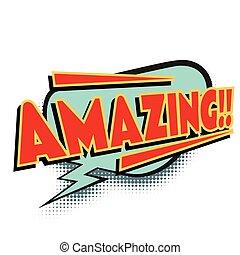 amazing comic word