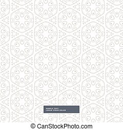 amazing floral pattern on white background