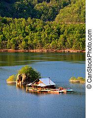 amazing house in lake