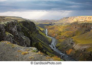 Amazing Icelandic landscape