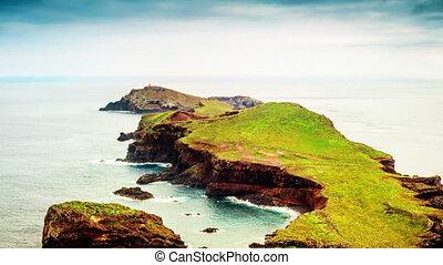 Amazing islands and peninsula, Ponta de Sao Lourenco, Madeira