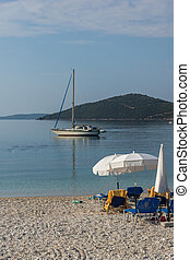 Mikros Gialos beach, Lefkada, Ionian Islands, Greece