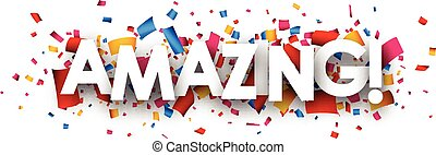 Amazing paper background. - Amazing paper background with...