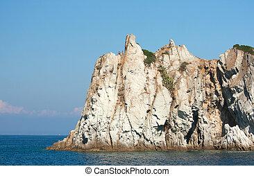 Amazing Rock Near Capo D'Enfola, Elba Island