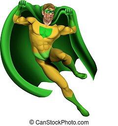 Amazing Superhero Illustration - Illustration of an amazing...
