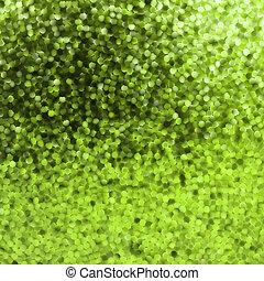 Amazing template design on green glittering. EPS 8