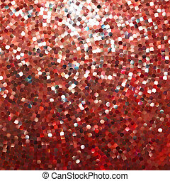 Amazing template design on red glittering. EPS 8