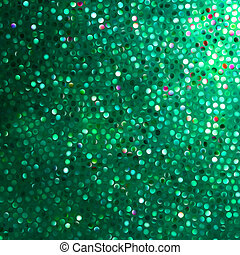 Amazing template on green glittering. EPS 8